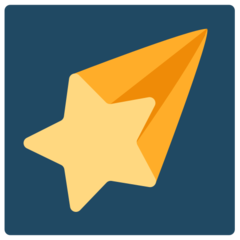 Shooting Star mozilla emoji