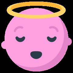 Smiling Face With Halo mozilla emoji