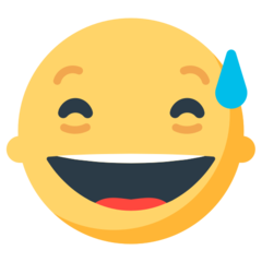 Smiling Face With Open Mouth And Cold Sweat mozilla emoji
