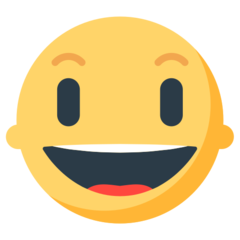 Smiling Face With Open Mouth mozilla emoji