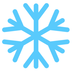 Snowflake mozilla emoji