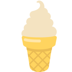 Soft Ice Cream mozilla emoji