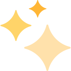 Sparkles mozilla emoji