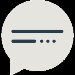 Speech Balloon mozilla emoji