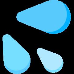 Splashing Sweat Symbol mozilla emoji