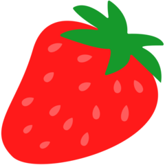 Strawberry mozilla emoji