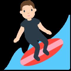 Surfer mozilla emoji