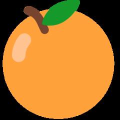 Tangerine mozilla emoji