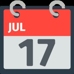 Tear-off Calendar mozilla emoji