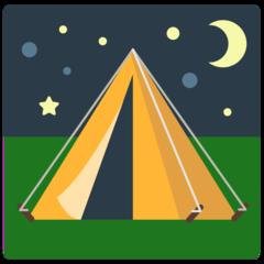 Tent mozilla emoji