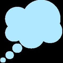Thought Balloon mozilla emoji