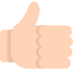 Thumbs Up Sign mozilla emoji