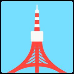 Tokyo Tower mozilla emoji