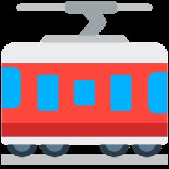 Tram Car mozilla emoji