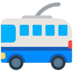 Trolleybus mozilla emoji