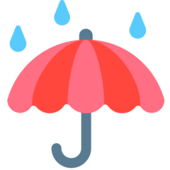 Umbrella With Rain Drops mozilla emoji