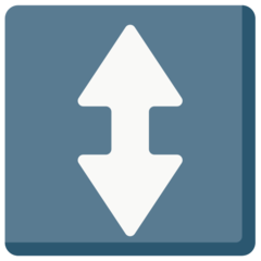 Up Down Arrow mozilla emoji