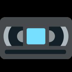 Videocassette mozilla emoji