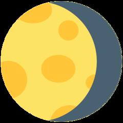 Waning Gibbous Moon Symbol mozilla emoji