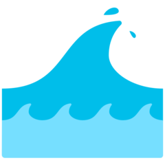 Water Wave mozilla emoji
