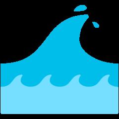 Water Wave mozilla emoji