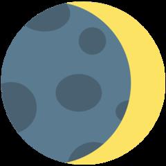 Waxing Crescent Moon Symbol mozilla emoji