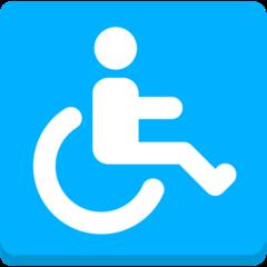 Wheelchair Symbol mozilla emoji
