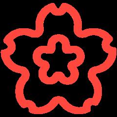 White Flower mozilla emoji
