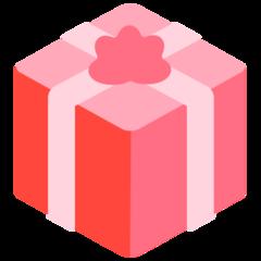Wrapped Present mozilla emoji
