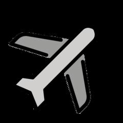Airplane openmoji emoji