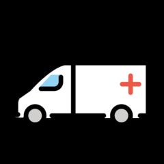 Ambulance openmoji emoji