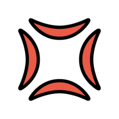 Anger Symbol openmoji emoji