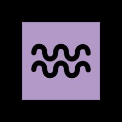 Aquarius openmoji emoji