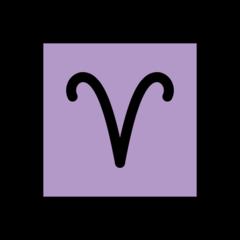 Aries openmoji emoji