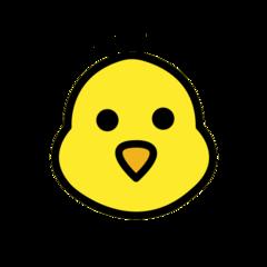 Baby Chick openmoji emoji