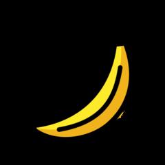 Banana openmoji emoji