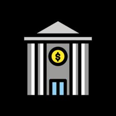 Bank openmoji emoji