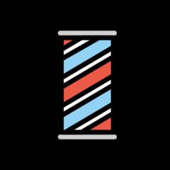 Barber Pole openmoji emoji
