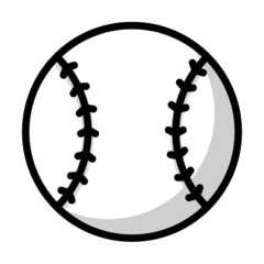 Baseball openmoji emoji