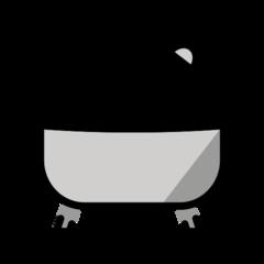 Bathtub openmoji emoji
