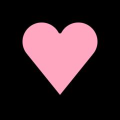 Beating Heart openmoji emoji
