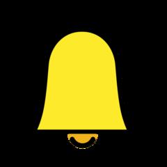Bell openmoji emoji
