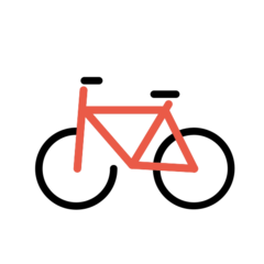 Bicycle openmoji emoji