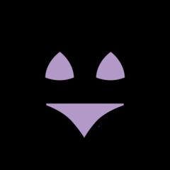 Bikini openmoji emoji