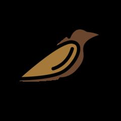 Bird openmoji emoji