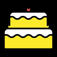 Birthday Cake openmoji emoji