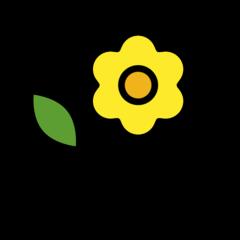 Blossom openmoji emoji