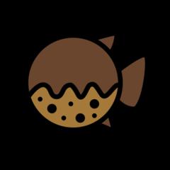 Blowfish openmoji emoji
