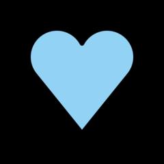 Blue Heart openmoji emoji