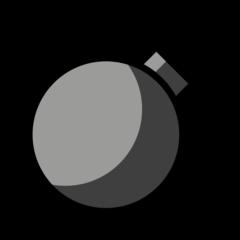 Bomb openmoji emoji